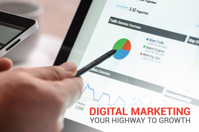Digital Marketing - Your Highway to Growth